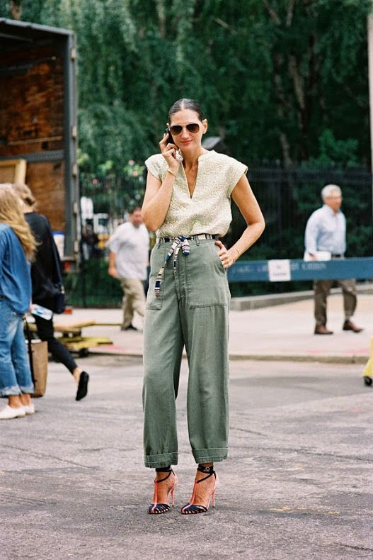 Vanessa Jackman: New York Fashion Week SS 2014....Jenna: