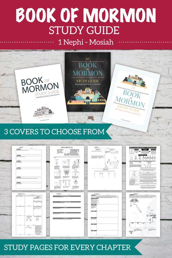 book of mormon reading guide