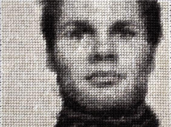 Anja Schäfer . embroidery art: Siegen_Feldstraße Henning