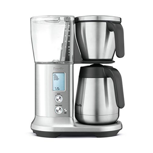 Breville Bdc450 Precision Brewer Coffee Maker With Thermal Carafe Breville S Patent Pending Steep Launc Thermal Coffee Maker Glass Coffee Maker Coffee Maker