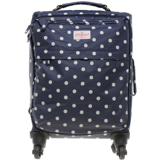 Cath Kidston Cabin Size Suitcase ($186) ❤ liked on Polyvore featuring bags, luggage, accessories and suitcases