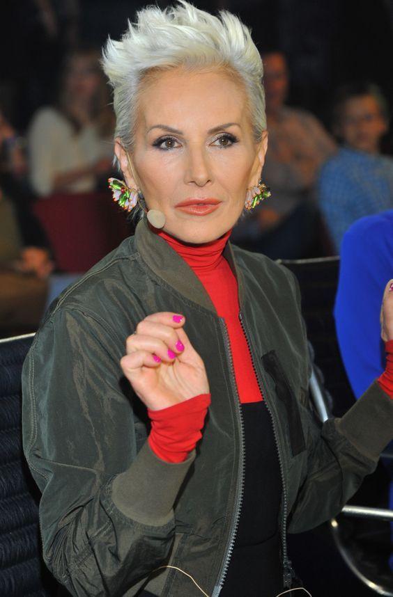 Short White Grey Hair Older Woman Haircut For Older Women Short Hair Styles Older Women Hairstyles