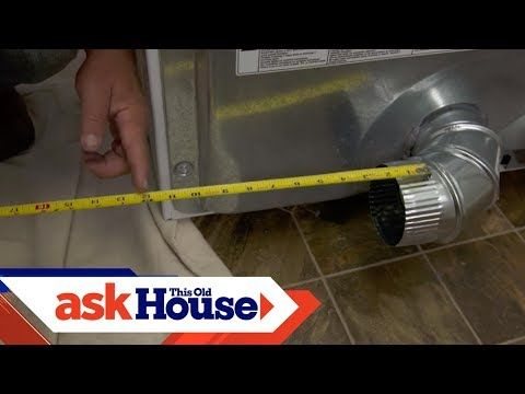 41 How To Vent A Clothes Dryer Youtube Dryer Vent