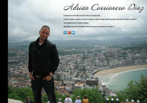 Adrián Corrionero Diaz's page on about.me – http://about.me/acorrionero