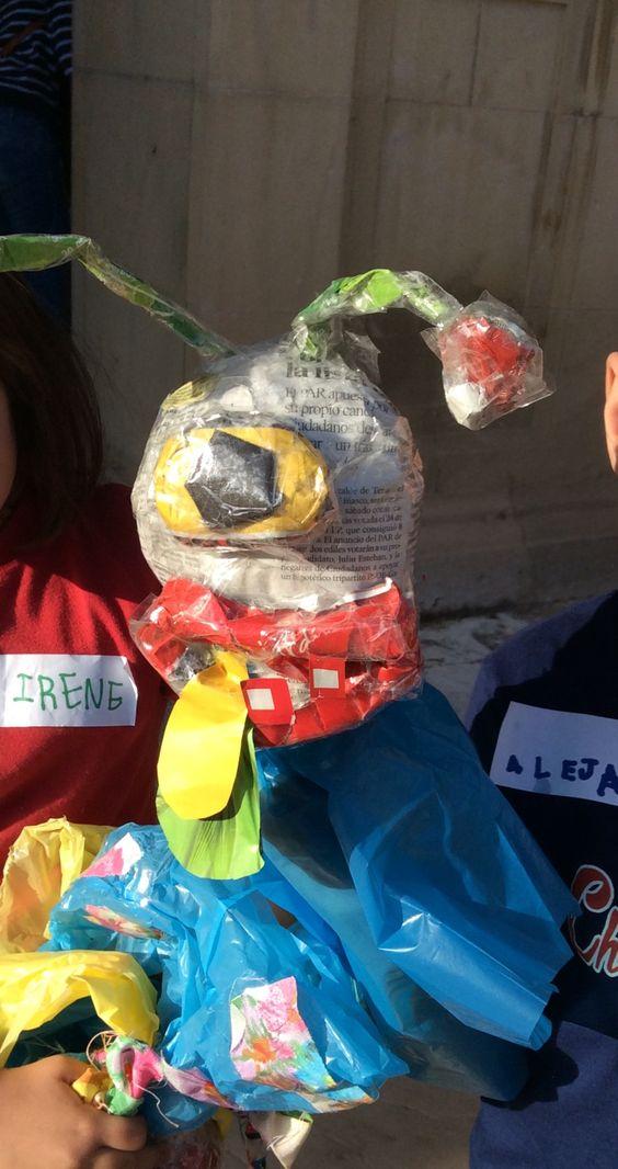 Talleres de Títeres de guante con materiales reciclados