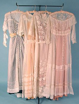 Edwardian Tea Gowns I would love to wear these dresses