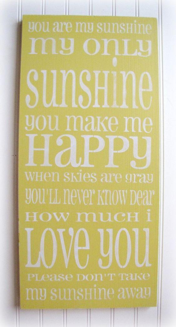 Good Morning Sunshine Words : Good morning sunshine my mom used to sing this me