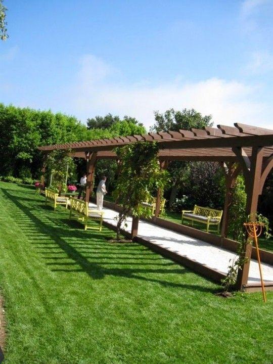 Comment Construire Un Terrain De Petanque Chez Soi 4 Etapes Terrain Petanque Terrain Boule Petanque Idee Amenagement Jardin