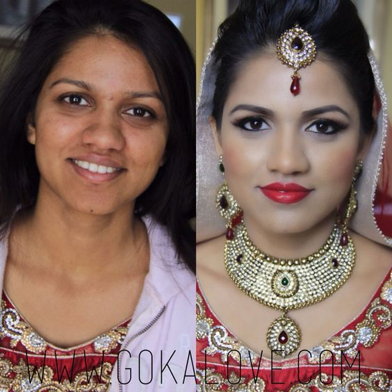 Bridal Makeup Pictures Before And After : Washington, Maquilleurs professionnels and Mariage on ...
