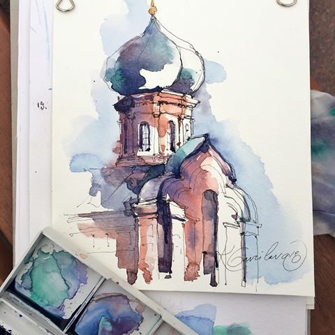I Am Use Pen Staedtler Water And Watercolor Opera By