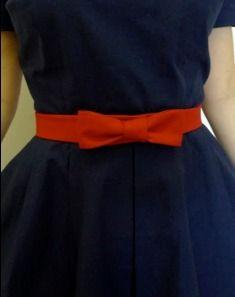 Tutorial: Vintage-inspired bow belt · Sewing   CraftGossip.com