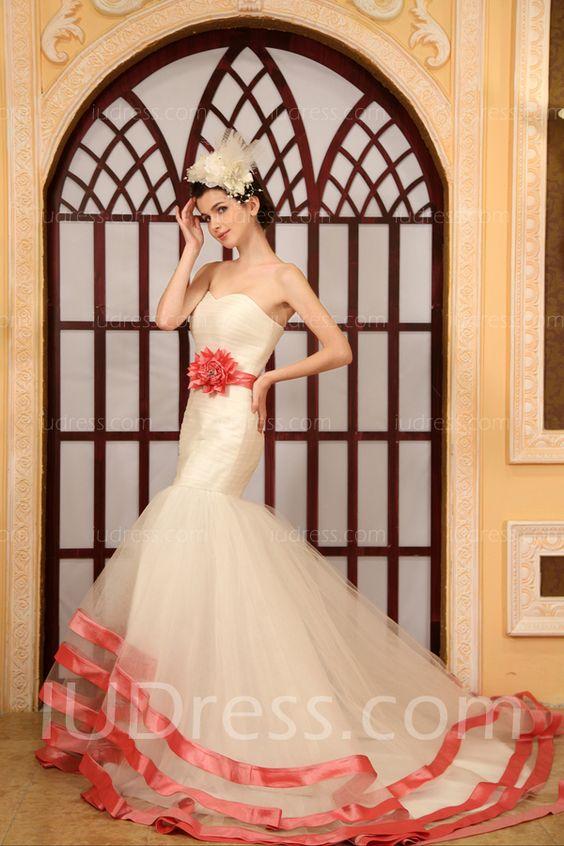 Discount Floor-Length Mermaid Wedding Dresses List Price: $625.00 Price: $219.99