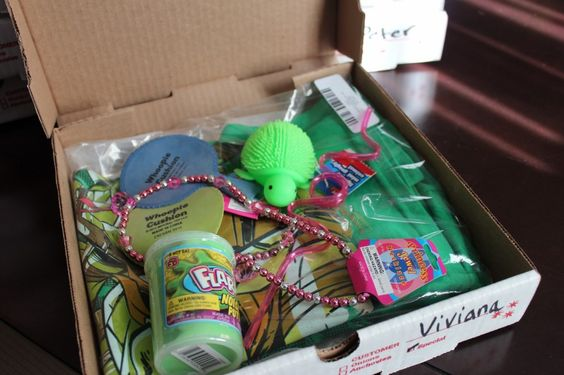 Party Favor Pizza Boxes A Tmnt T Shirt Some Dollar Store