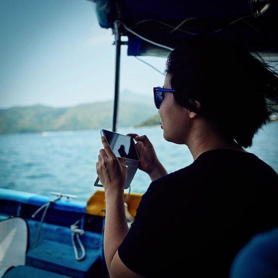 船上的海風真的很涼快 The wind on the boat was really refreshing... #physicaltheatre #acting #training #hongkongtheatre #hongkong #hk #hkig #香港 #rooftopproductions #天台製作 #形體劇場 #香港劇場