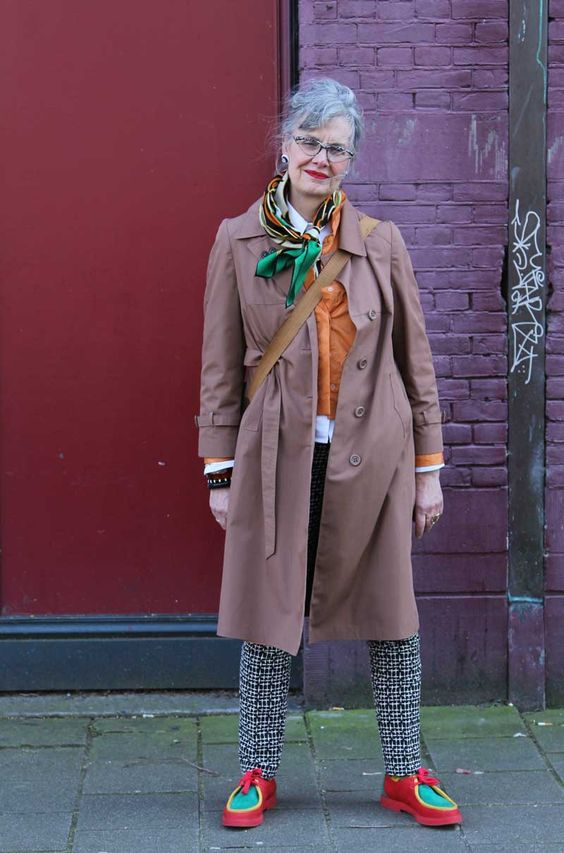 Anne-marie in Amsterdam. She loves vintage clothes