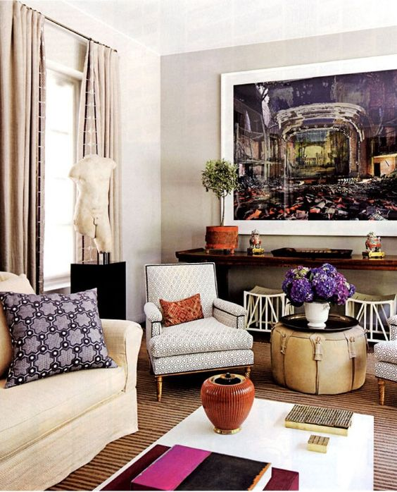 living room: Interior Design, Living Area, Eclectic Room, Living Rooms, Livingrooms, Living Spaces, Design Ideas, Decorating Ideas, Dream House