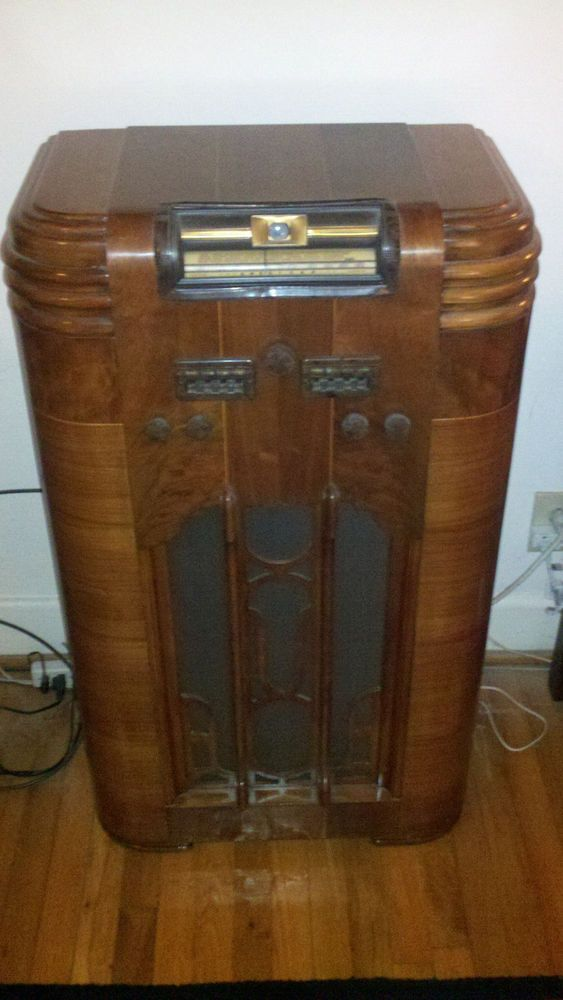 1939 silvertone model 4781 console radio fully restored - Westinghouse muebles ...