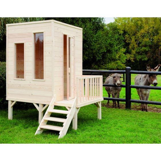 Maisonnette cabane pour enfant cameleon projet cabane dans le jardin pi - Maisonnette d enfant ...