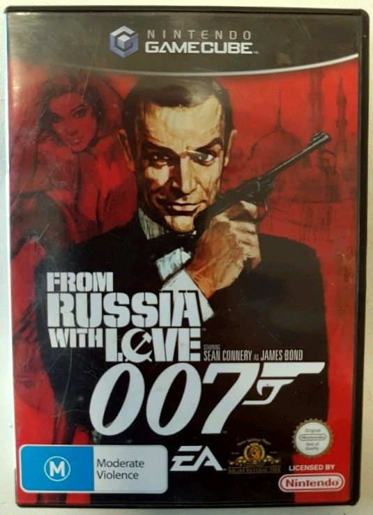 Gamecube 007 From Russia With Love Ps1 Pal Nintendo Videojuegos