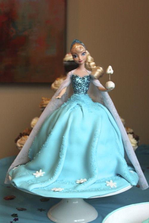 Frozen Doll Cake