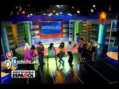 Wespa - @AnaCarmenLeon @Ibelkaulerio y @liondyozoria bailando el Ay - Ay @Sehablaespanol7 #Video - Cachicha.com