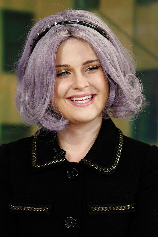 kelly osbourne hair purple haired princess tops diy