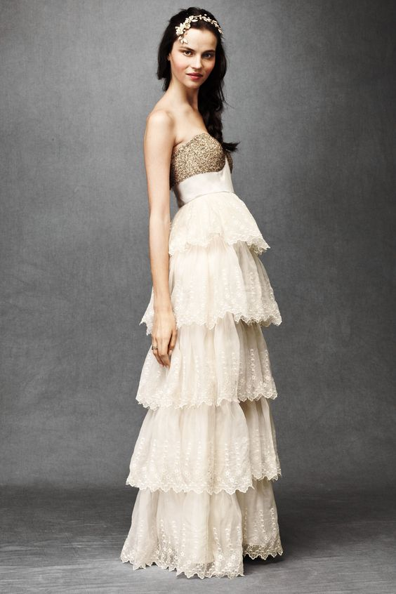 Pinterest the world s catalog of ideas for Anthropologie beholden wedding dress