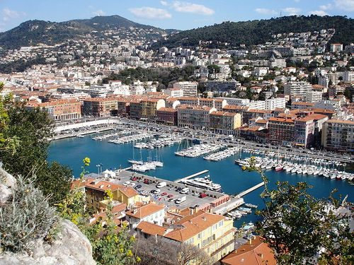 Nice, France. Lovely place to be in June