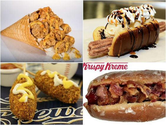 15 Ridiculous New Ballpark Foods That Will Have You Drooling In The Bleachers
