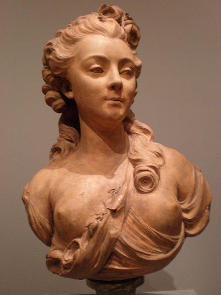 Jean-Jacques Caffieri - Portrait bust of a young woman CPLH 1927