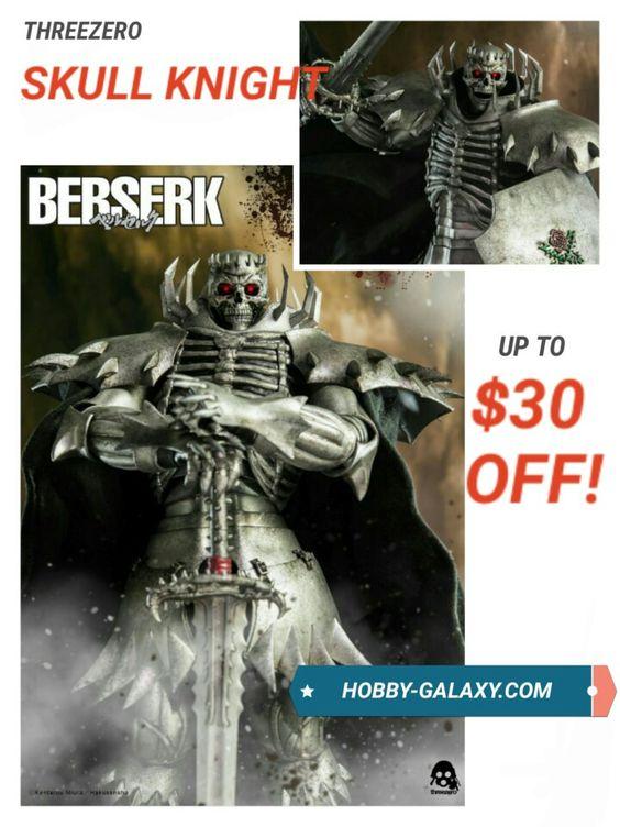 Pre-Order at Hobby-Galaxy.com!  #berserk #berserkmanga #berserkanime #berserkguts #skullknight #godshands #actionfigures #actionfigure #onesix #onesixthfigure #onesixscale #onesixthrepublic