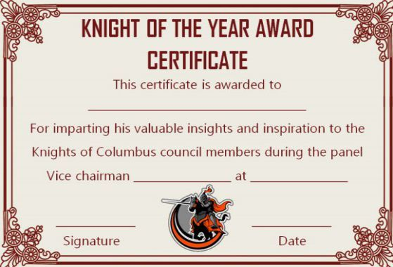 10 Superb Knights Of Columbus Certificate Templates For Appreciation Template Sumo Knights Of Columbus Certificate Templates Knight