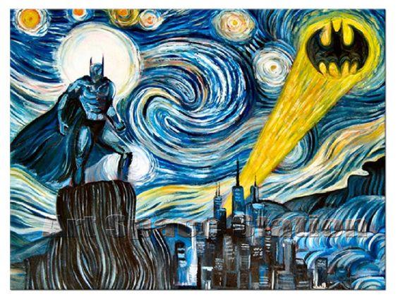pintura de batman - Buscar con Google