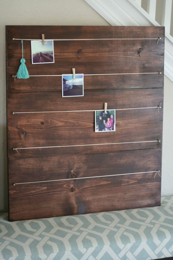 Large Photo board for 4x4 photo's, Instagram photo holder, Instagram picture frame - Free Shipping