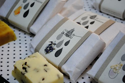 homemade natural soaps \ adorable package
