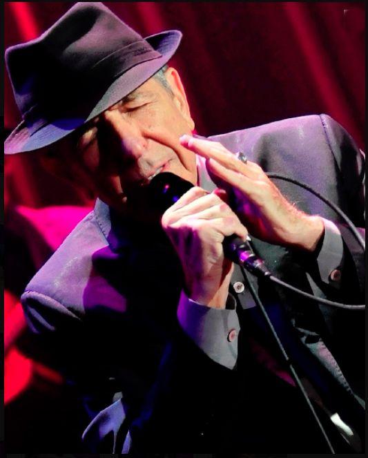 Fantastic photo - Leonard Cohen