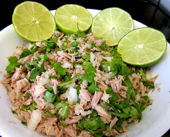 serve tuna ceviche and more tuna ceviche ceviche tortilla chips tuna ...