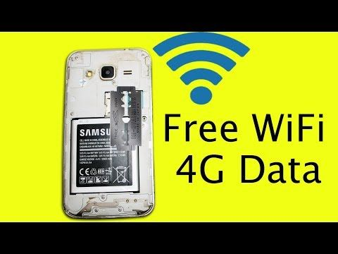 Get Free 4g Internet Data Wifi Without Sim Card On Mobile Device Using Steel Blade Youtube 4g Internet Wifi Internet Phone