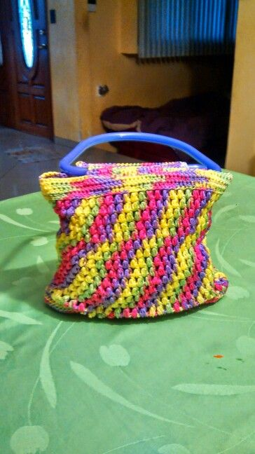 Bolsa a crochet