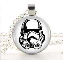Star Wars soldado Logo colar pingente cadeia gargantilha colar de jóias mulheres R$ 15,00 + Frete; Promo válida até 06 de dezembro de 2015