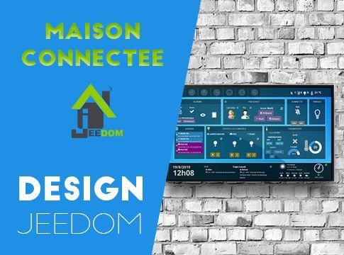 Design Jeedom Comment Le Creer Pas A Pas Installation Domotique Domotique Raspberry Domotique