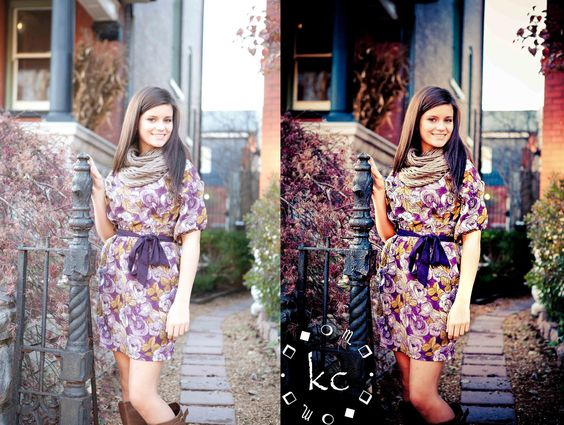 Using Pretty Presets to edit