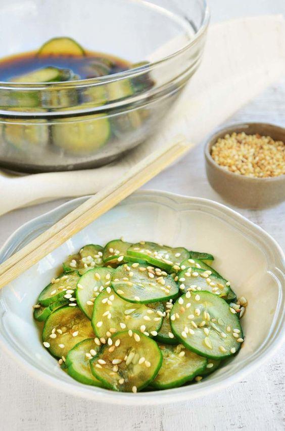 Salada de pepino