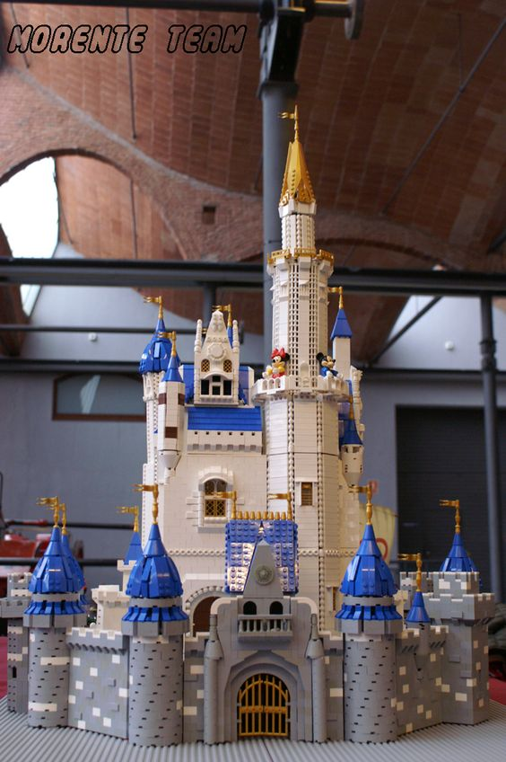 how to build a lego castle
