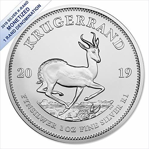 2019 Silver Krugerrand 1 Oz 1 Rand South African Mint Brilliant Uncirculated Silver Krugerrand Silver Coins For Sale Gold And Silver Coins