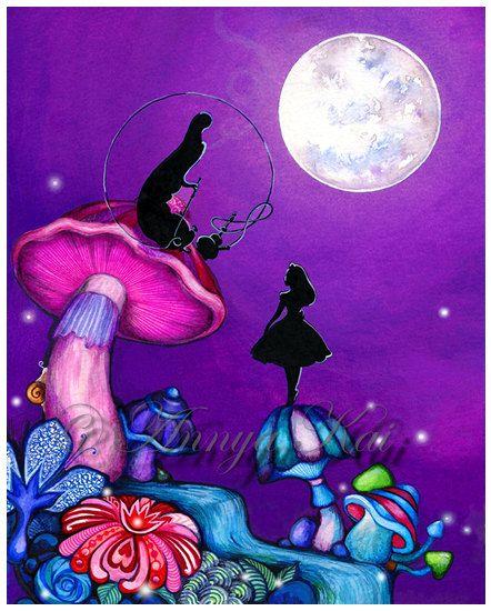 Alice in wonderland midget hanging-4758