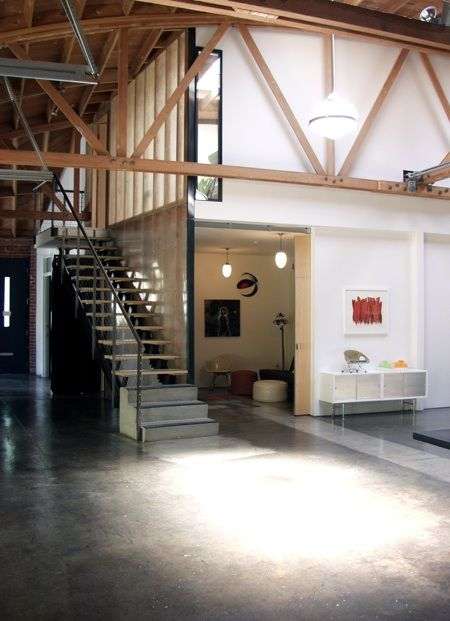 Inspiration Industrial High Ceilings And Conference Room