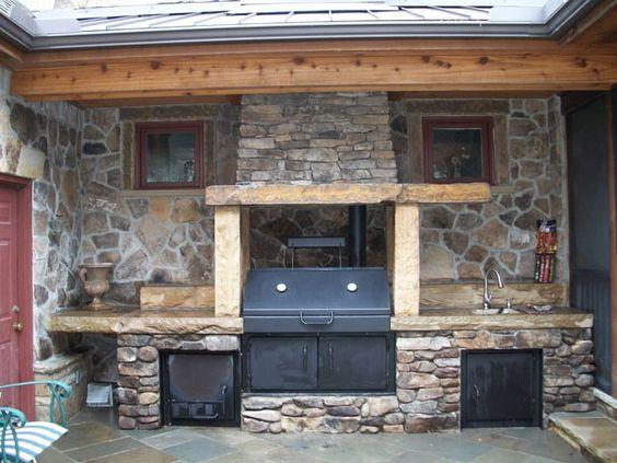 built in smokers built in smoker outdoor kitchen