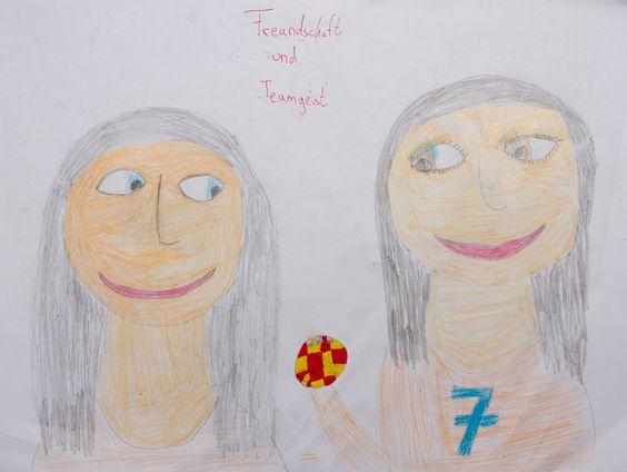 Über 100 junge Künstler malen fairen Sport   Grundschulkinder aus der VG Nieder Olm beteiligen sich an Malwettbewerb.
