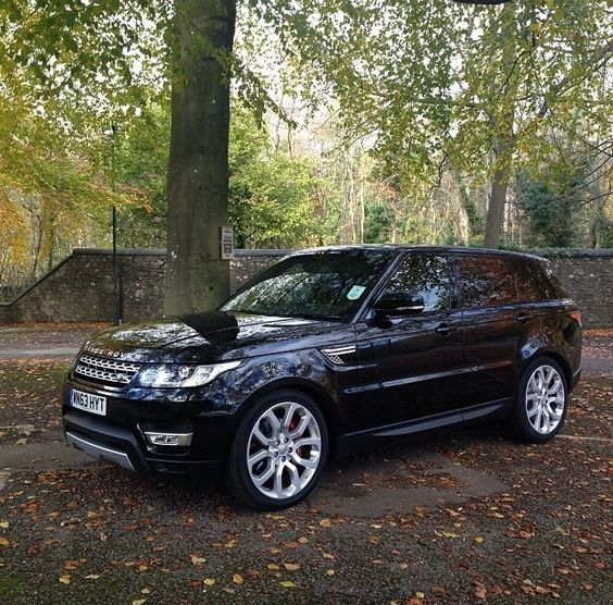We are at the campsite and following our guide, G. McTavish to the Caravan. This fellow looks familiar! Range Rover Sport